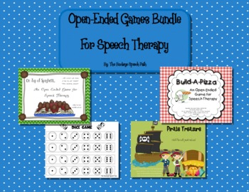 Open Ended Games BUNDLE for Speech Therapy