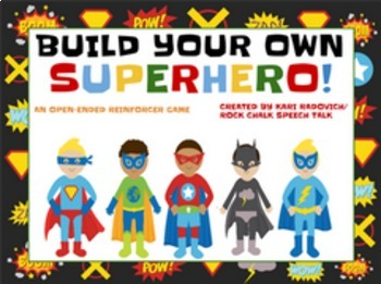 Open-Ended Games Bundle! Includes Superheroes and Building Blocks!