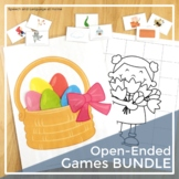 Open-Ended Games Bundle for Speech and Language