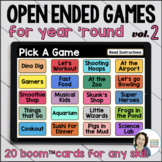 Open Ended Games for ANY skill |  VOL 2 | Boom™ Cards