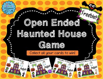 Open Ended Haunted House Game