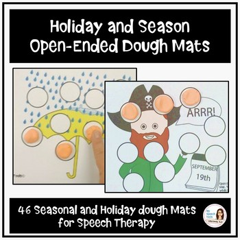 Open-Ended Dough Mats for Speech Therapy