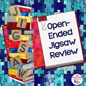 Open-Ended Jigsaw Review Set