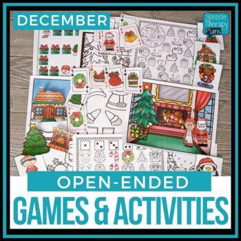 Open Ended Language & Articulation Games - December