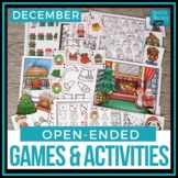 Open Ended Language & Articulation Games - December