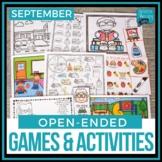 Open Ended Language & Articulation Games - September