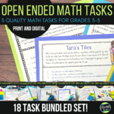 Open Ended Real World Math Challenges Problem Solving BUND
