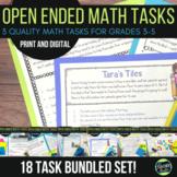 Open Ended Math Challenges Problem Solving BUNDLE Sets 1-6