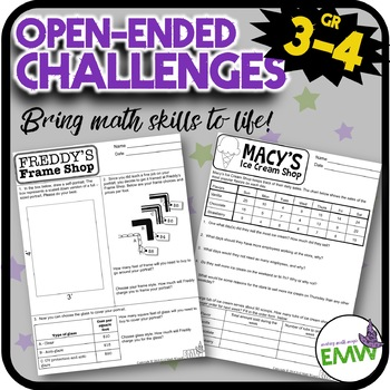 Open Ended Math Challenges Problems Questions Problem Solving Tasks