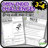 Open Ended Math Challenges Problems Questions Problem Solv