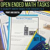 Open Ended Math Problem Solving Challenges Set 3