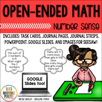 Open-Ended Math Questions - Number Sense