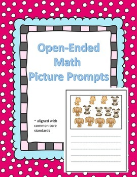 Open Ended Math Picture Prompts