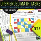 Open Ended Math Problem Solving Challenges Set 6