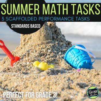 Open Ended Math Problem Solving Tasks Grade 2-3 Summer Edition