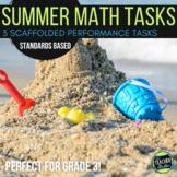 Open Ended Math Problem Solving Tasks Grade 2-3 Summer Set