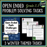 Open Ended Math Problem Solving Tasks Grade 2-3 Winter Edition