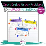 Open Ended Math Questions - Whole Numbers
