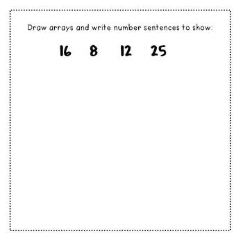 Open-Ended Math Prompts: Second Grade