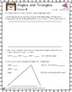 Open-Ended Math Questions Angles, Grades 4-5