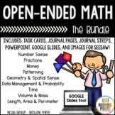 Open-Ended Math Questions Bundle
