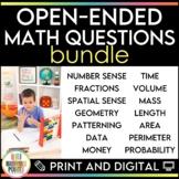 Open-Ended Math Questions Bundle