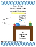Open-Ended Math Questions Grades 4-5 Rounding and Evens & Odds