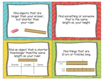Open-Ended Math Questions - Length, Area & Perimeter