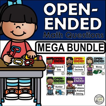 Open-Ended Math Questions - MEGA Bundle Over 65 Different Questions!