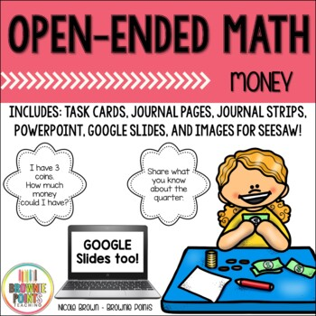 Open-Ended Math Questions - Money