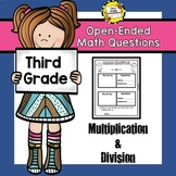Open-Ended Math Questions: Multiplication / Division (THIR