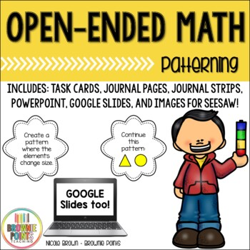 Open-Ended Math Questions - Patterning