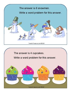 Open- Ended Math Task Cards