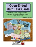 Open-Ended Math Task Cards