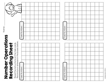 Open Ended Mathematics: Addition and Subtraction Task Cards Set 1