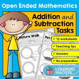 Open Ended Mathematics: Addition and Subtraction Tasks