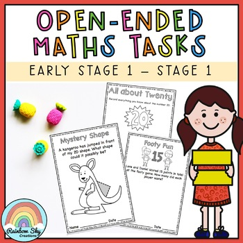Open Ended Maths Pack - K to Year 2