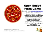 Open Ended Pizza Game