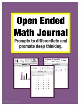 Open Ended Problem Bundle: Grades 3-5 (20% Savings)