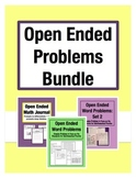 Open Ended Problem Bundle: Grades 3-5 (20% Savings)