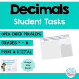 Decimals - Open-Ended Problem Solving