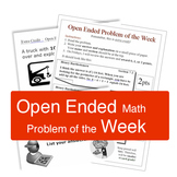 Open Ended Problem of the Week
