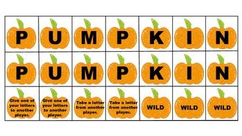 Open-Ended Pumpkin Envelope Game