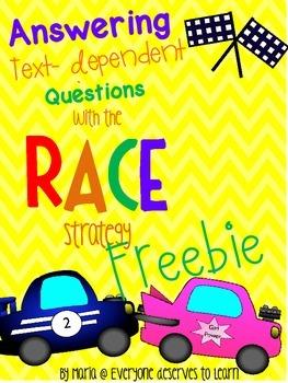 Text Evidence RACE Strategy