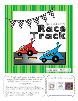 Open Ended Race Track FREEBIE