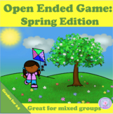 Spring Speech Therapy Open Ended Game