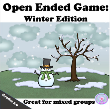 Open Ended Reinforcer Game: Winter Edition