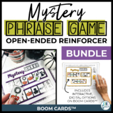 Open Ended Speech and Language Tile Game {Seasonal BUNDLE}