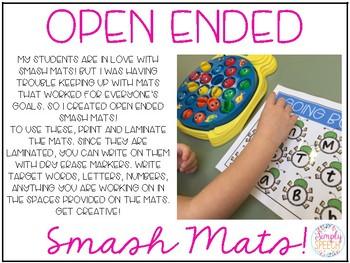 Open Ended Smash Mats