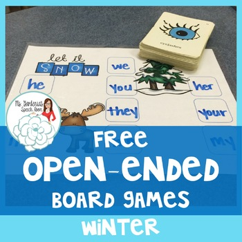 Open Ended Board Games: Winter